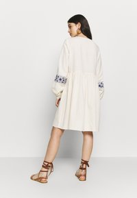 YAS - YASMATHILDE DRESS - Day dress - eggnog/surf the web - 3