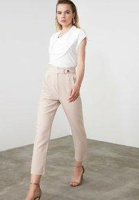Trendyol - Trousers - beige - 0
