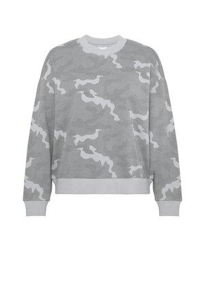 KEY ITEM CREW PRINT - Sweatshirt - green