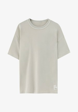 LOOSE-FIT - T-shirt - bas - beige