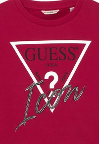 Guess - JUNIOR MIDI ACTIVE ICON - Mikina - disco pink - 3