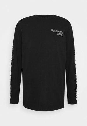 BEVIN TEE  - T-shirt à manches longues - black