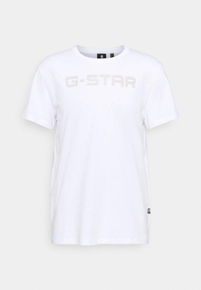 G-STAR R T S\S - Print T-shirt - white