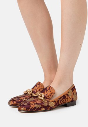 JESSA LOAFER - Mocassins - burgundy/gold/ambra