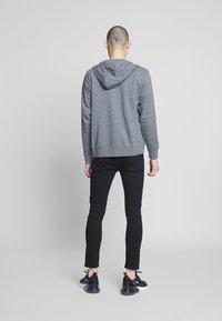 Nike Sportswear - M NSW FZ FT - Zip-up sweatshirt - charcoal heather/anthracite/white - 2