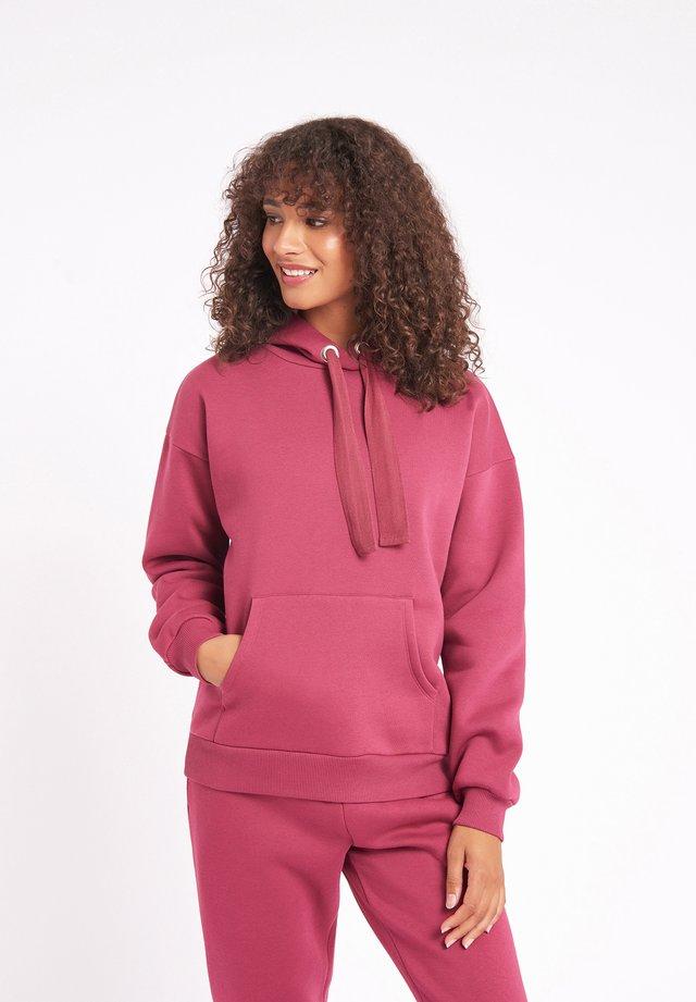Pyjama top - burgundy