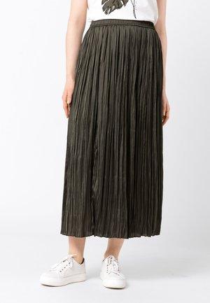 Pleated skirt - fango