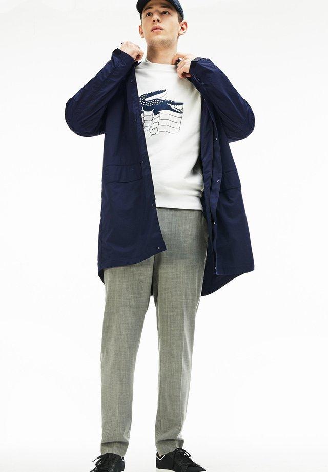 Krátký kabát - navy blau