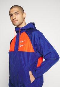 Nike Sportswear - Summer jacket - deep royal blue/team orange/white - 3