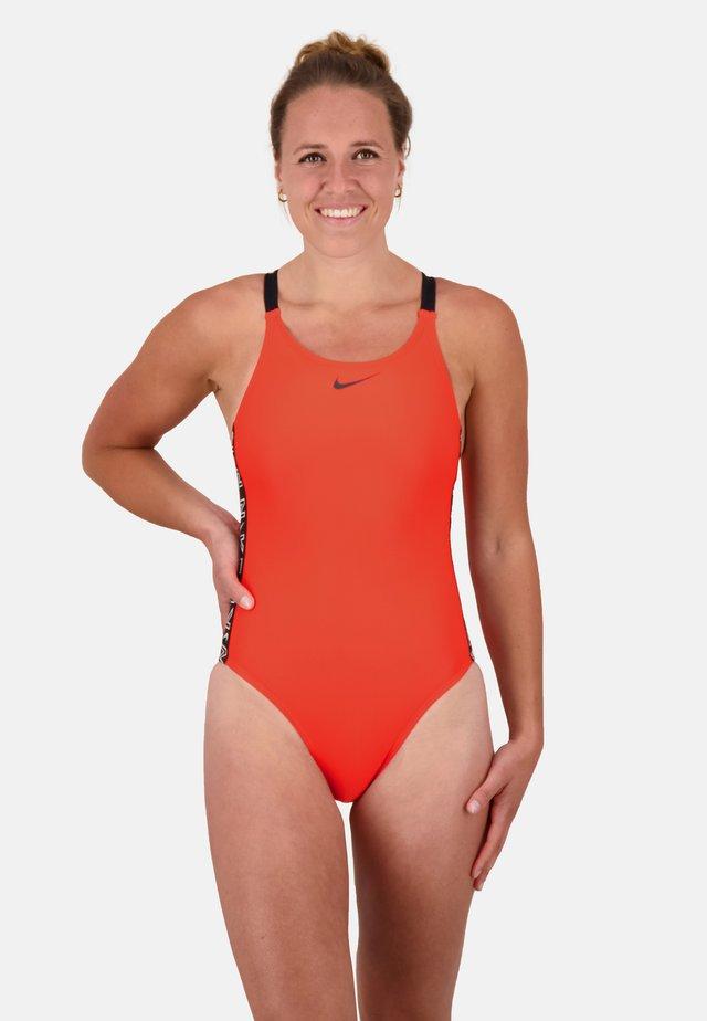 Swimsuit - bright crimson
