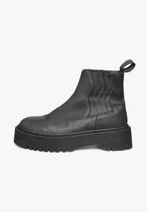 MARLEEGZ - Platform ankle boots - black