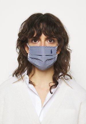 PLAINWEAVE MASK UNISEX - Community mask - navy/white