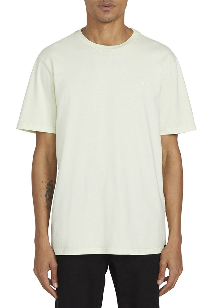 Homme SOLID STONE EMB SS TEE - T-shirt basique