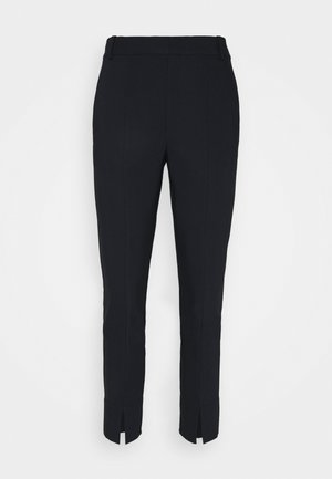 ZELLAIW SLIT PANT - Trousers - marine blue