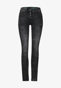 Cecil - Slim fit jeans - schwarz - 3
