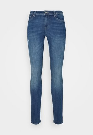ONLWAUW LIFE MID - Vaqueros pitillo - medium blue denim