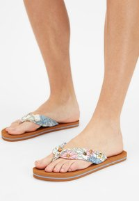 O'Neill - DITSY SUN - T-bar sandals - white all over print - 0