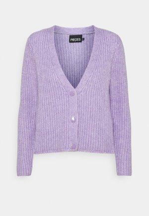 PCCILLA  CARDIGAN  - Cardigan - lavender