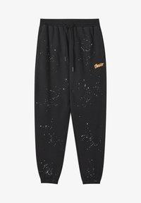 PULL&BEAR - Pantaloni sportivi - mottled black - 5