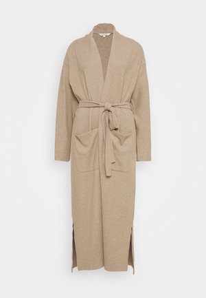 CELIE BRUSHED - Cardigan - mocca melange