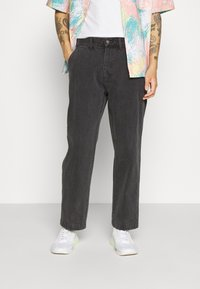 Obey Clothing - HARD WORK CARPENTER - Straight leg -farkut - dusty black - 0