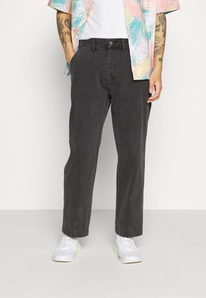 HARD WORK CARPENTER - Straight leg jeans - dusty black
