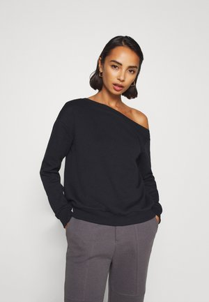 OFF SHOULDER - Sweatshirt - black