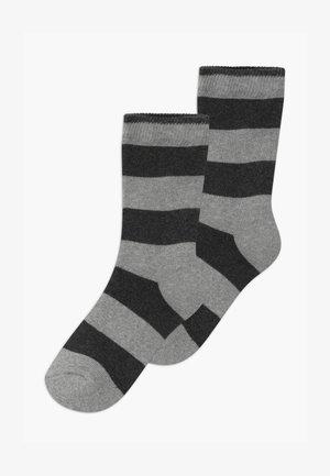 TERRY RINGLET 2 PACK UNISEX - Socks - grey