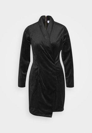 CLOSET BLAZER DRESS - Vestido de cóctel - black