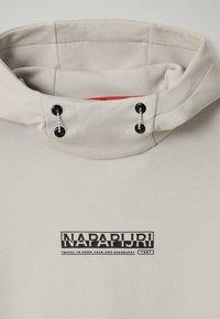 Napapijri - B-OODI - Felpa con cappuccio - grey harbor - 2