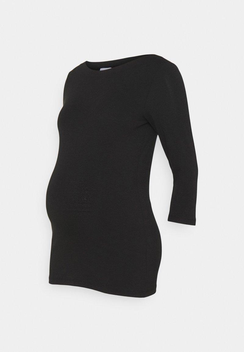MAMALICIOUS - MLELNORA - Bluzka z długim rękawem - black