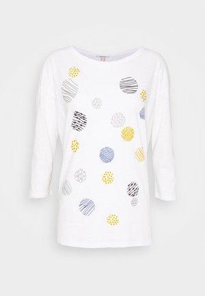CORE - Maglietta a manica lunga - off white