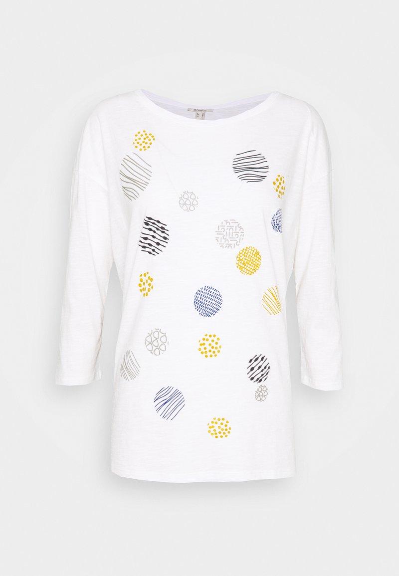 Esprit - CORE - Maglietta a manica lunga - off white