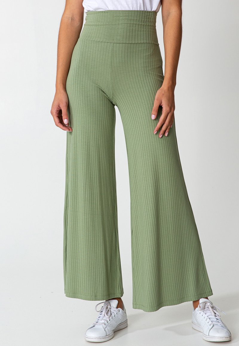 Indiska - LILLEMOR - Trousers - green