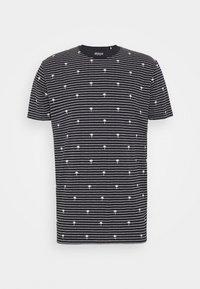 edc by Esprit - PALM - Print T-shirt - navy - 4