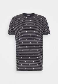 PALM - Print T-shirt - navy