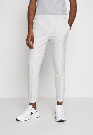 CHECK JOGGER - Pantalones - grey