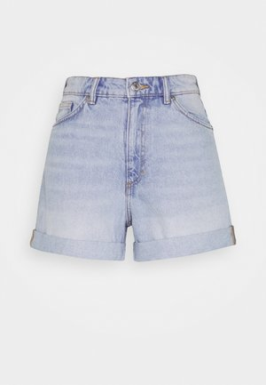 TALLIE - Denim shorts - blue dusty light blue