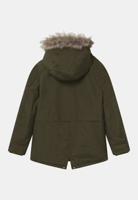 IKKS - 2-IN-1  - Zimní kabát - bronze/navy foncé - 2