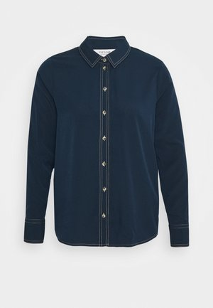 RITA - Button-down blouse - ultra navy