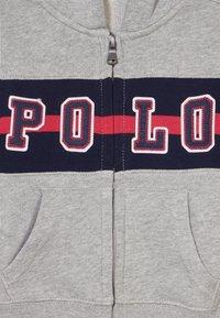 Polo Ralph Lauren - HOOD - Bluza rozpinana - andover heather - 3