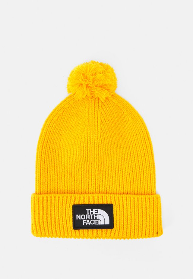LOGO BOX POM BEANIE UNISEX - Berretto - summit gold