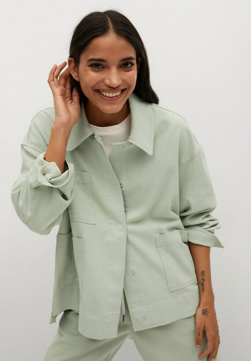 Mango - Summer jacket - mint green