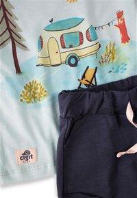 Cigit - CAMPING PRINTED - Shorts - turquoise - 2