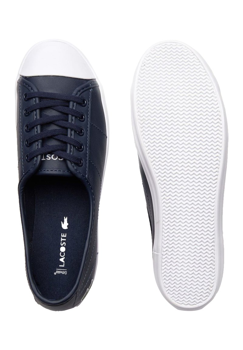 Lacoste - ZIANE BL 1 CFA - Baskets basses - navy