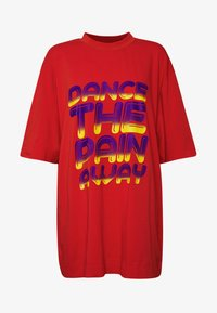 House of Holland - DANCE OVERSIZED - Print T-shirt - red - 3