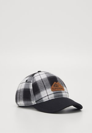 VERMONT  - Cap - black/white
