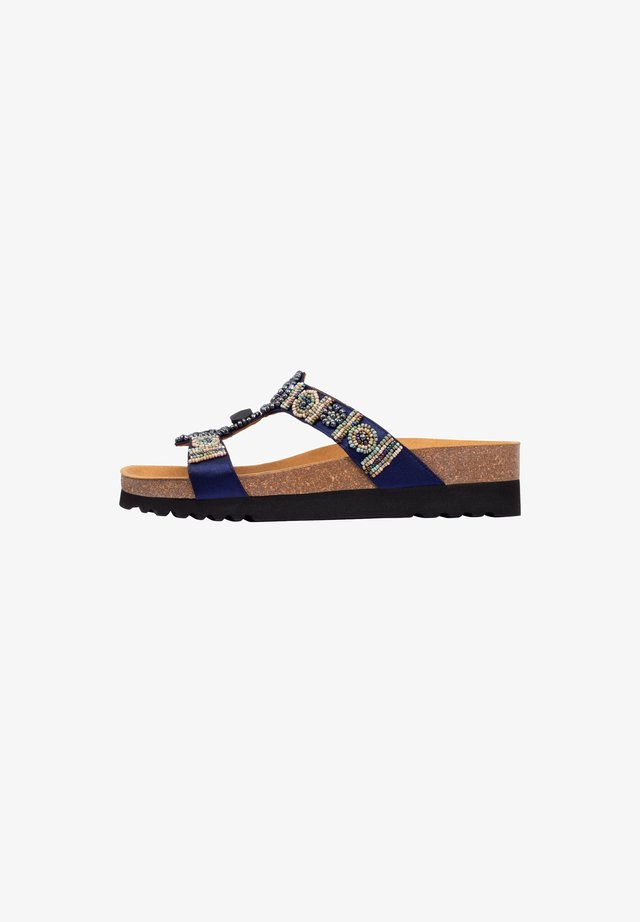 NEW BOGOTA - Flip Flops - blue