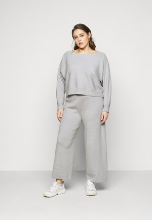 SET - Jumper - mottled light grey