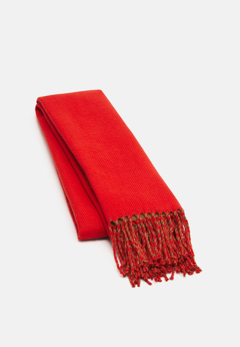 Pieces - PCSIGGE LONG SCARF - Scarf - coral